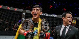 ONE Championship's Aung La N Sang