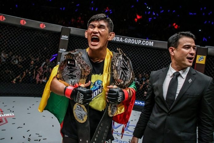ONE Championship's Aung La N Sang