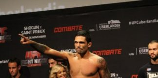 Claudio Silva UFC London