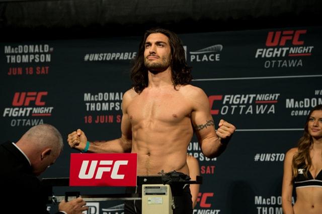 Elias Theodorou UFC 231