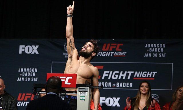 Jimmie Rivera UFC Utica