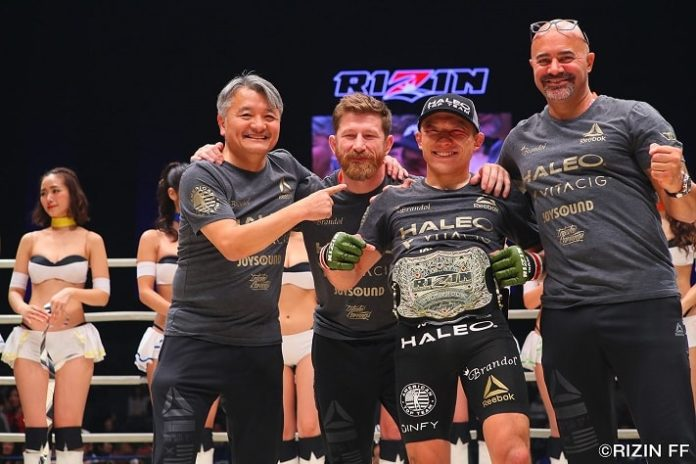 Kyoji Horiguchi returns to face Ian McCall at RIZIN 10