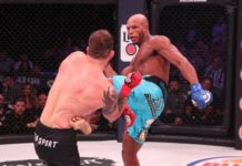 Linton Vassell facing Ryan Bader