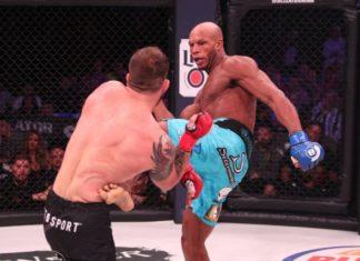 Linton Vassell facing Ryan Bader