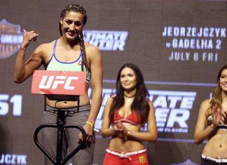 Tatiana Suarez UFC 238