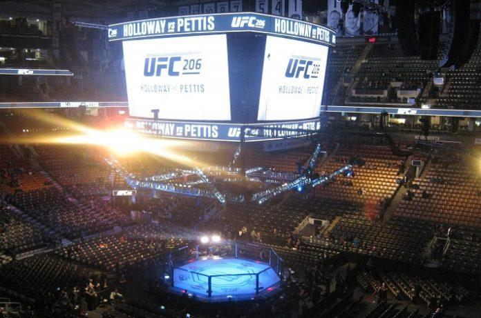UFC 206 venue