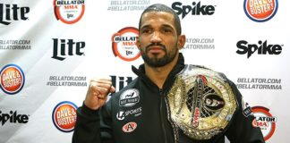 Bellator MMA middleweight champ Rafael Carvalho will defend against Gegard Mousasi at Bellator 200