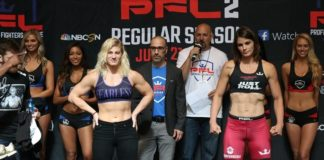 PFL 2 Kayla Harrison vs. Brittney Elkin