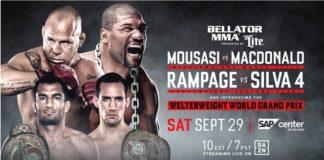 Bellator - Wanderlei vs. Rampage 4