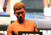 Teruto Ishihara returns at UFC Singapore