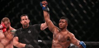 Alonzo Menifield earned a UFC contract on the second season opener of DWTNCS