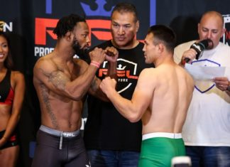 Andre Harrison PFL 1 weigh-ins
