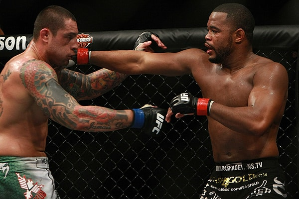 Rashad Evans, former UFC light heavyweight champ, has announced his retirement