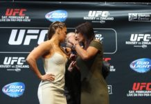 Ronda Rousey and Cat Zingano, UFC 148