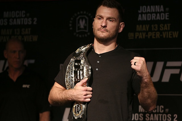 Stipe Miocic, UFC heavyweight champion