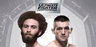 Luis Pena meets Richie Smullen at the TUF 27 Finale