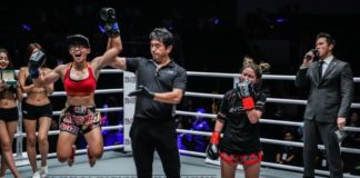 Yodcherry Sityodtong vs Kai Ting Chuang at ONE Championship: Battle for the Heavens