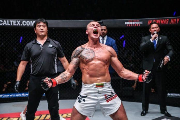 Sergej Maslobojev, ONE Championship: Pursuit of Power