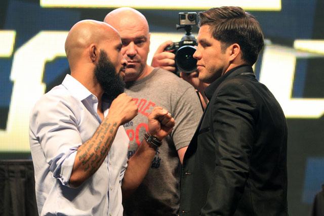 UFC 227 Demetrious Johnson Henry Cejudo