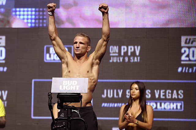 UFC 227 Cody Garbrandt TJ Dillashaw