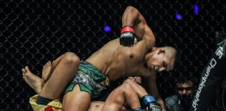 Agilan Thani topped the ONE Championship: Pursuit of Power card