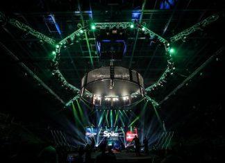 Bellator MMA cage