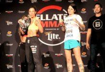 Julia Budd and Talita Nogueira, Bellator 202