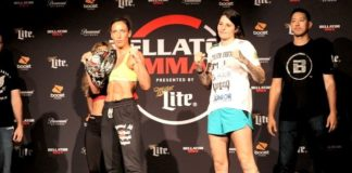 Julia Budd and Talita Nogueira, Bellator 202
