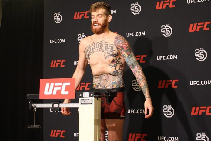 Devin Powell, UFC Calgary