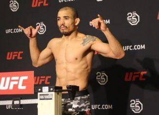 Jose Aldo, UFC Calgary early weigh-ins