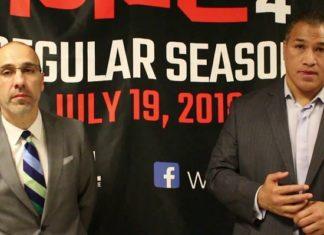 Carlos Silva and Ray Sefo