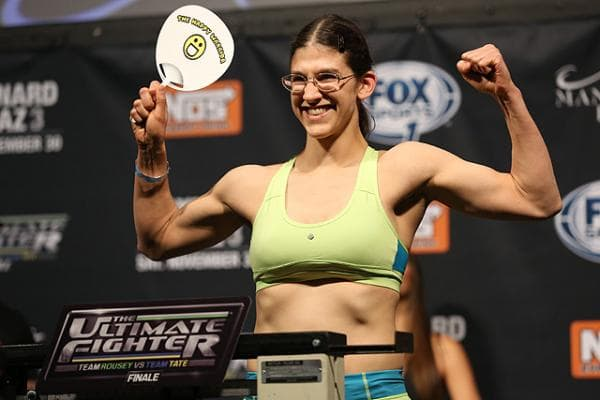 UFC Roxanne Modafferi The Ultimate Fighter (TUF)