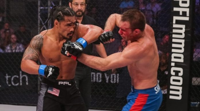 Ray Cooper III defeated Jake Shields at PFL 3