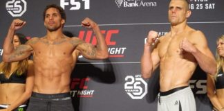 Eryk Anders and Tim Williams UFC Lincoln