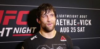 Andrew Sanchez UFC Lincoln