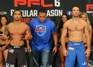 Ray Cooper III and Pavlo Kusch PFL 6