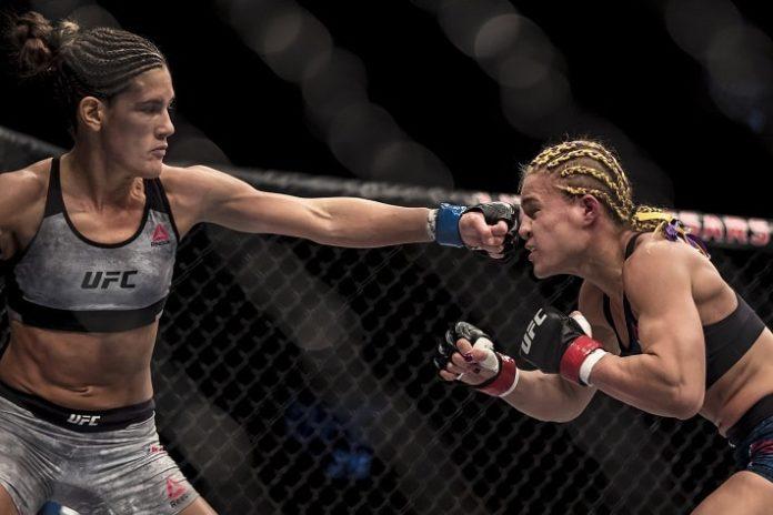 Cortney Casey (left) UFC