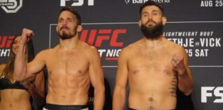 Jake Ellenberger and Bryan Barberena, UFC Lincoln