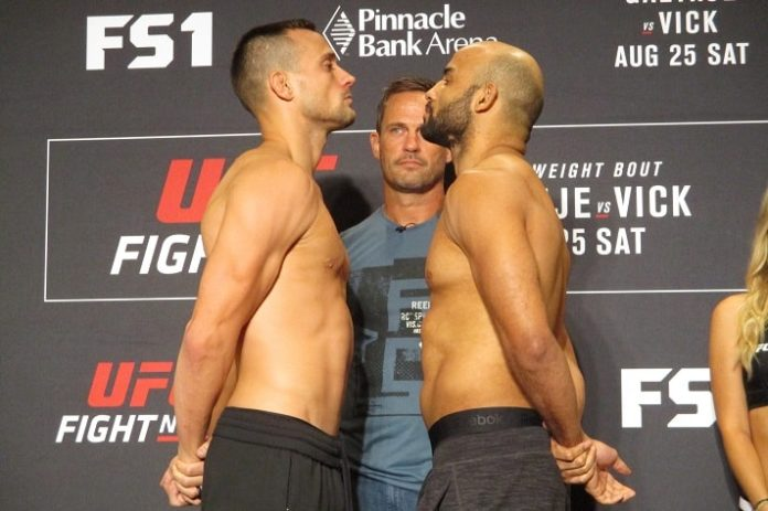 James Krause and Warlley Alves, UFC Lincoln