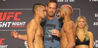 John Moraga and Deiveson Figueiredo, UFC Lincoln
