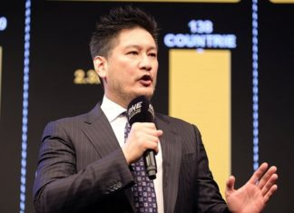 Chairman and CEO of ONE Championship, Chatri Sityodtong
