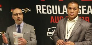 Ray Sefo and Carlos Silva PFL 5