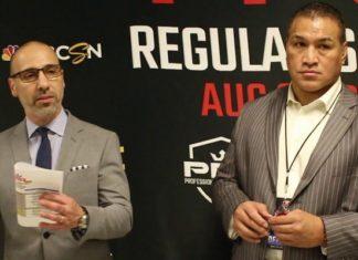 Ray Sefo and Carlos Silva PFL 5