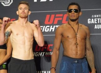 Iuri Alcantara and Cory Sandhagen, UFC Lincoln