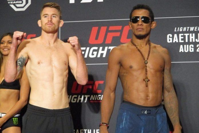 Iuri Alcantara and Cory Sandhagen, UFC Lincoln