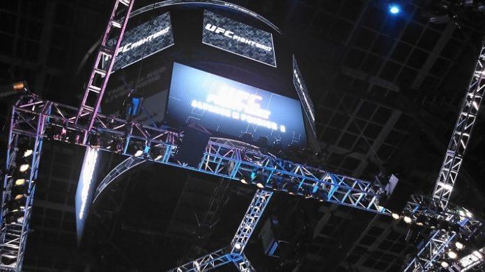 UFC FIght Night - Saddledome in Calgary, AB
