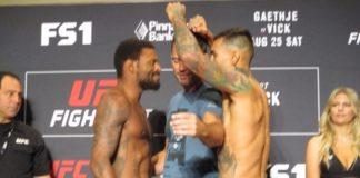 UFC Lincoln Michael Johnson Andre Fili