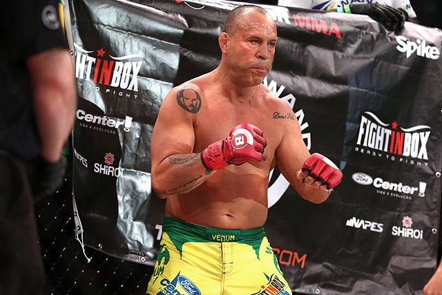 Bellator 206 Rampage Jackson Wanderlei Silva