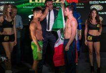 Gustavo Lopez and Jose Alday Combate Americas
