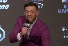 Conor McGregor at the UFC 229 Press Conference